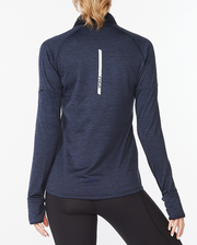 Ignition 1/4 Zip Long Sleeve Top