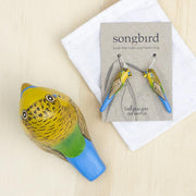 Budgerigar Paperweight Whistle - Songbird