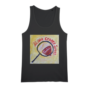 10,000 Crappy Songs Organic Jersey Womens Tank Top