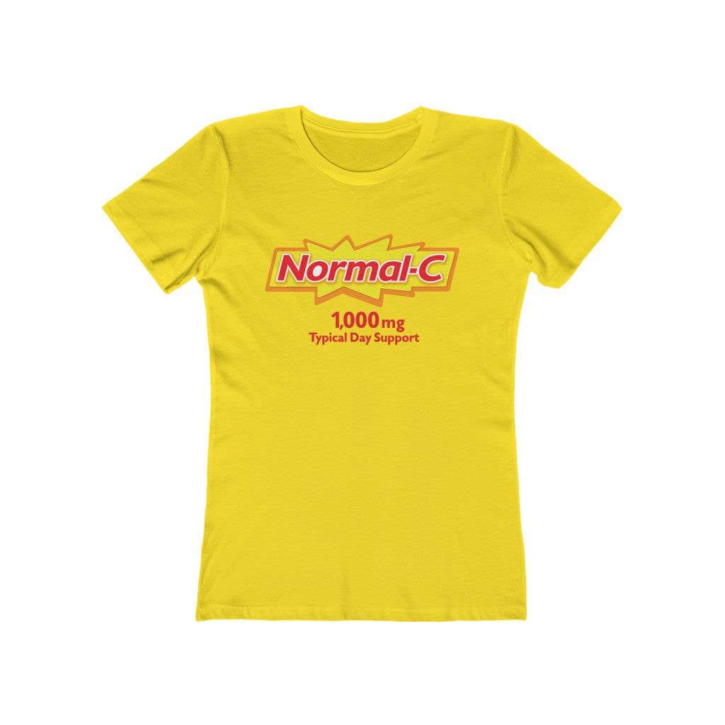 "Normal-C Women's ""Boyfriend"" Tee"