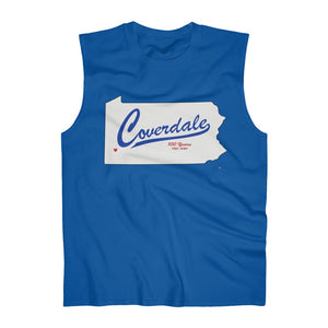 Coverdale State Map Ultra Cotton Sleeveless Tank