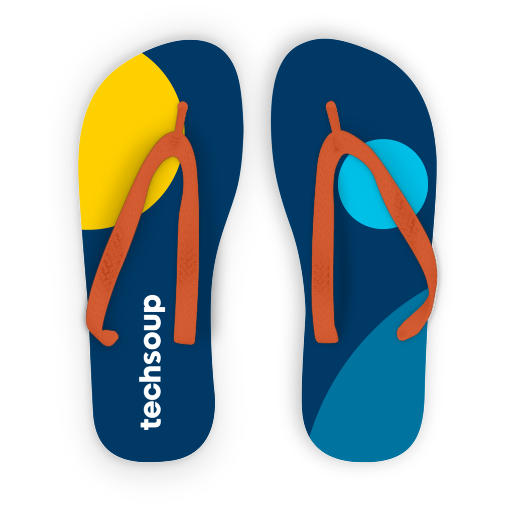TechSoup Kids Flip Flops