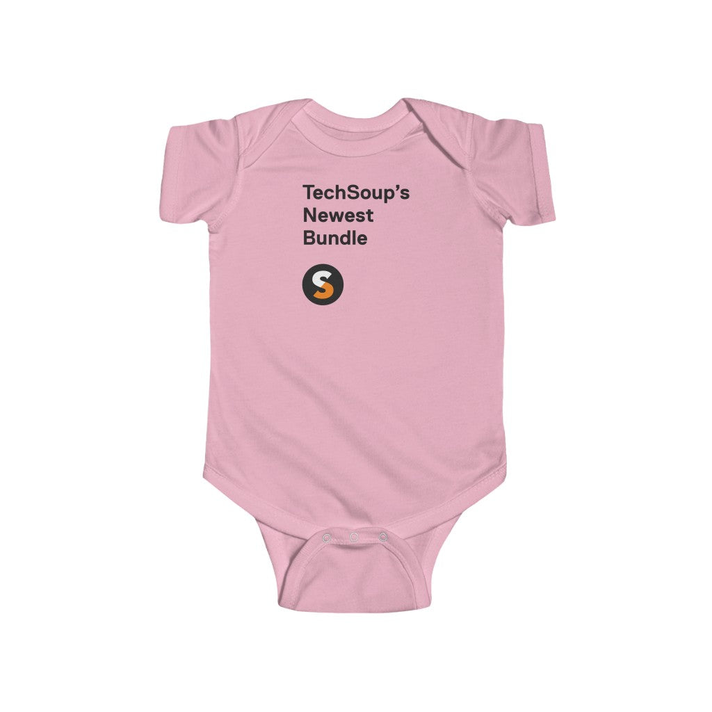 TechSoup Bundle Infant Fine Jersey Bodysuit