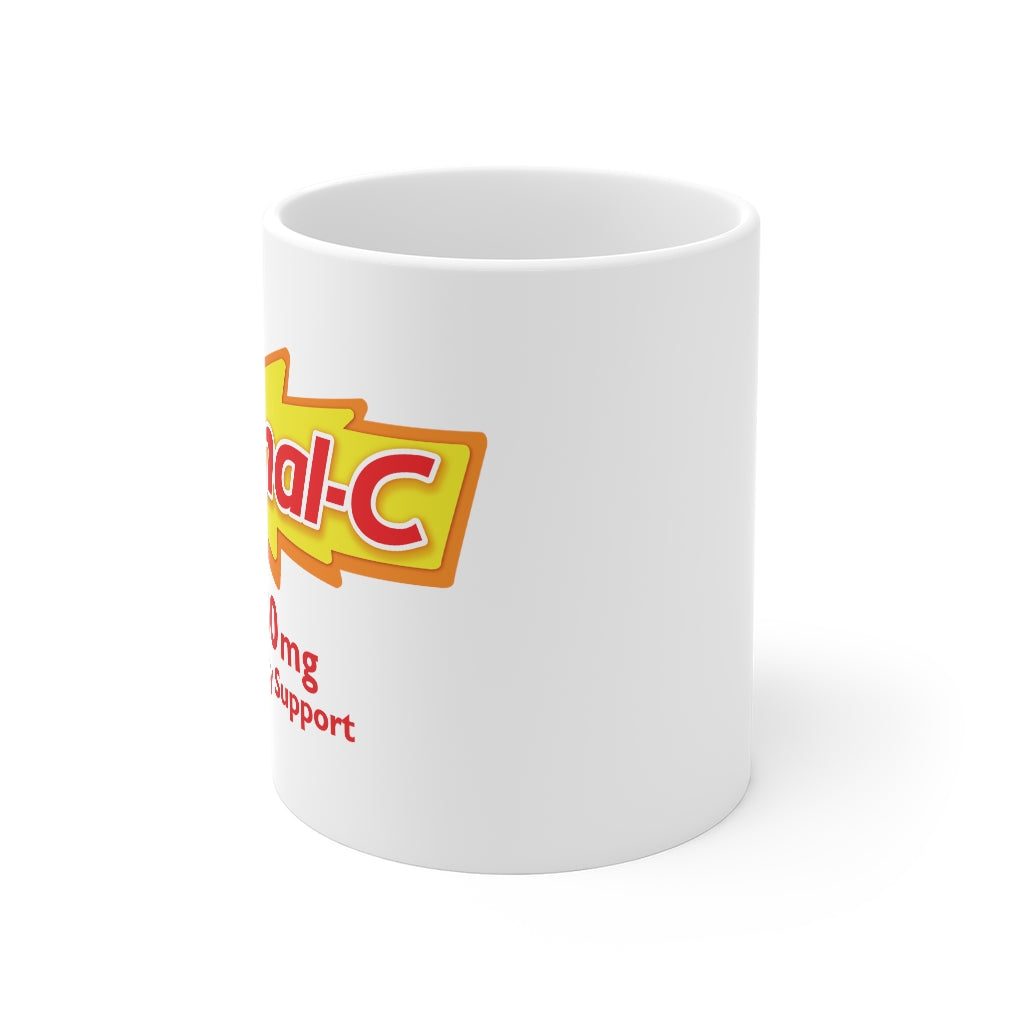 Normal-C Coffee Mug (10% of proceeds go to Artists COVID19 Hardship Charities)