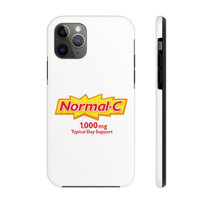 Normal-C Phone Case (10% of proceeds go to Artists COVID19 Hardship Charities)