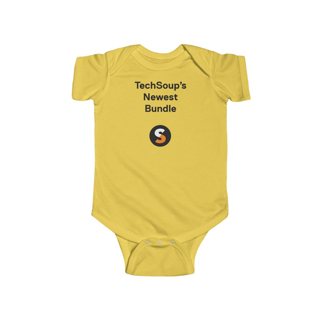 Techsoup (centered) Infant Fine Jersey Bodysuit
