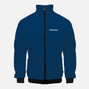 TechSoup Blue Zip-Up Jacket (FREE SHIPPING)
