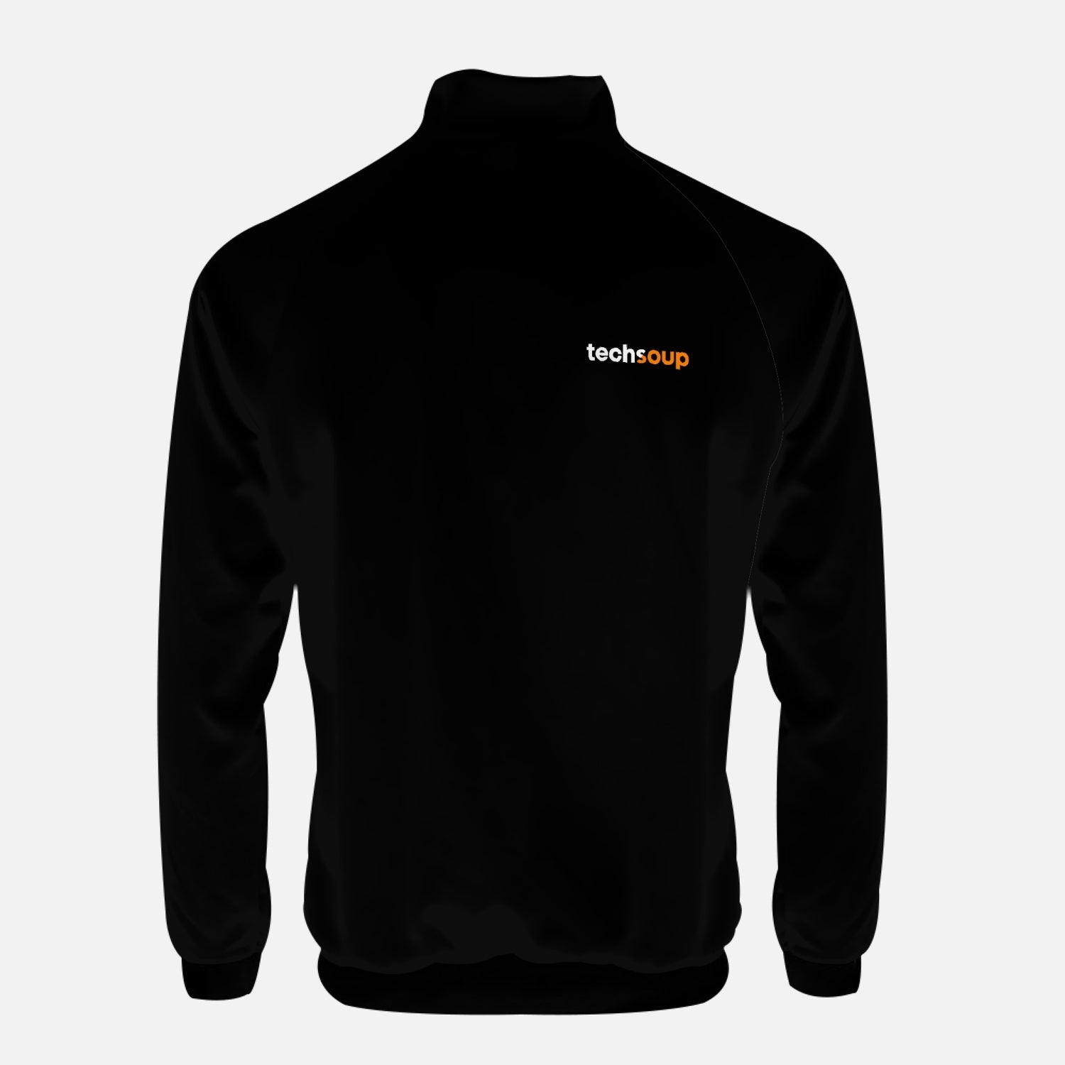TechSoup Black Zip-Up Jacket (FREE SHIPPING)