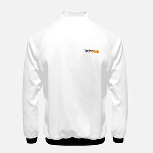 TechSoup White Zip-Up Jacket (FREE SHIPPING)