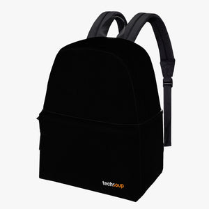 TechSoup Black Backpack