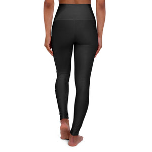 TechSoup Black High Waisted Yoga Leggings