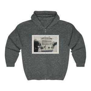 Coverdale Honor Roll Long Zip Hoodie