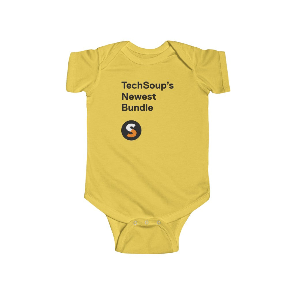 TechSoup Infant Onesie (UK & European delivery)