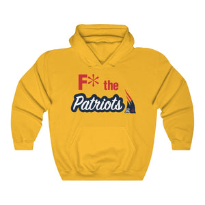 F* the Patriots Unisex Heavy Blend™ Hoodie