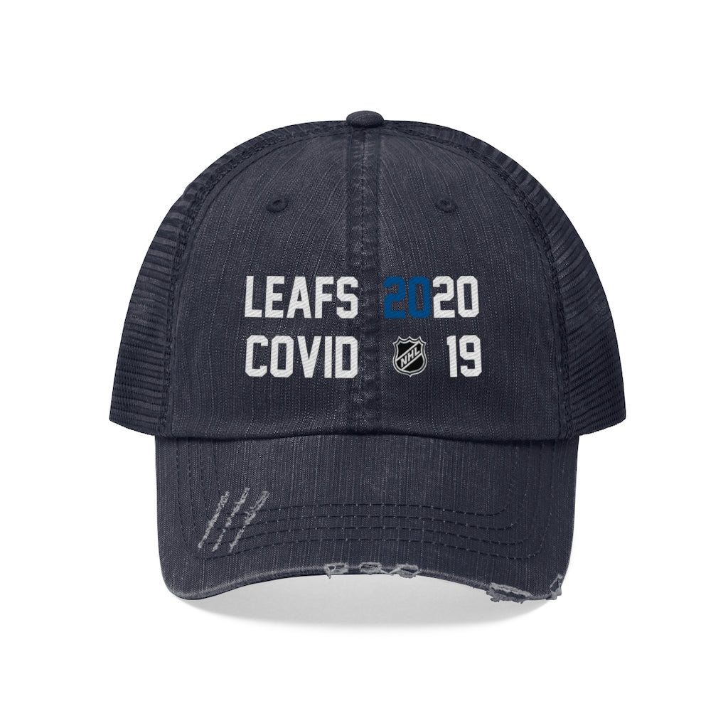 Toronto Maple Leafs Defeat Covid Trucker Hat