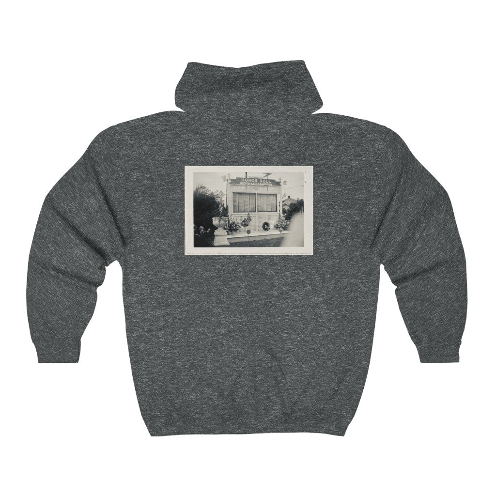 Coverdale/Honor Roll Zip Hooded Sweatshirt