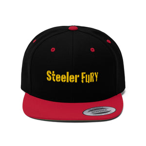 SteelerFury Flat Bill Hat