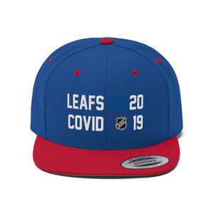 Toronto Maple Leafs Beat Covid Flat Bill Hat