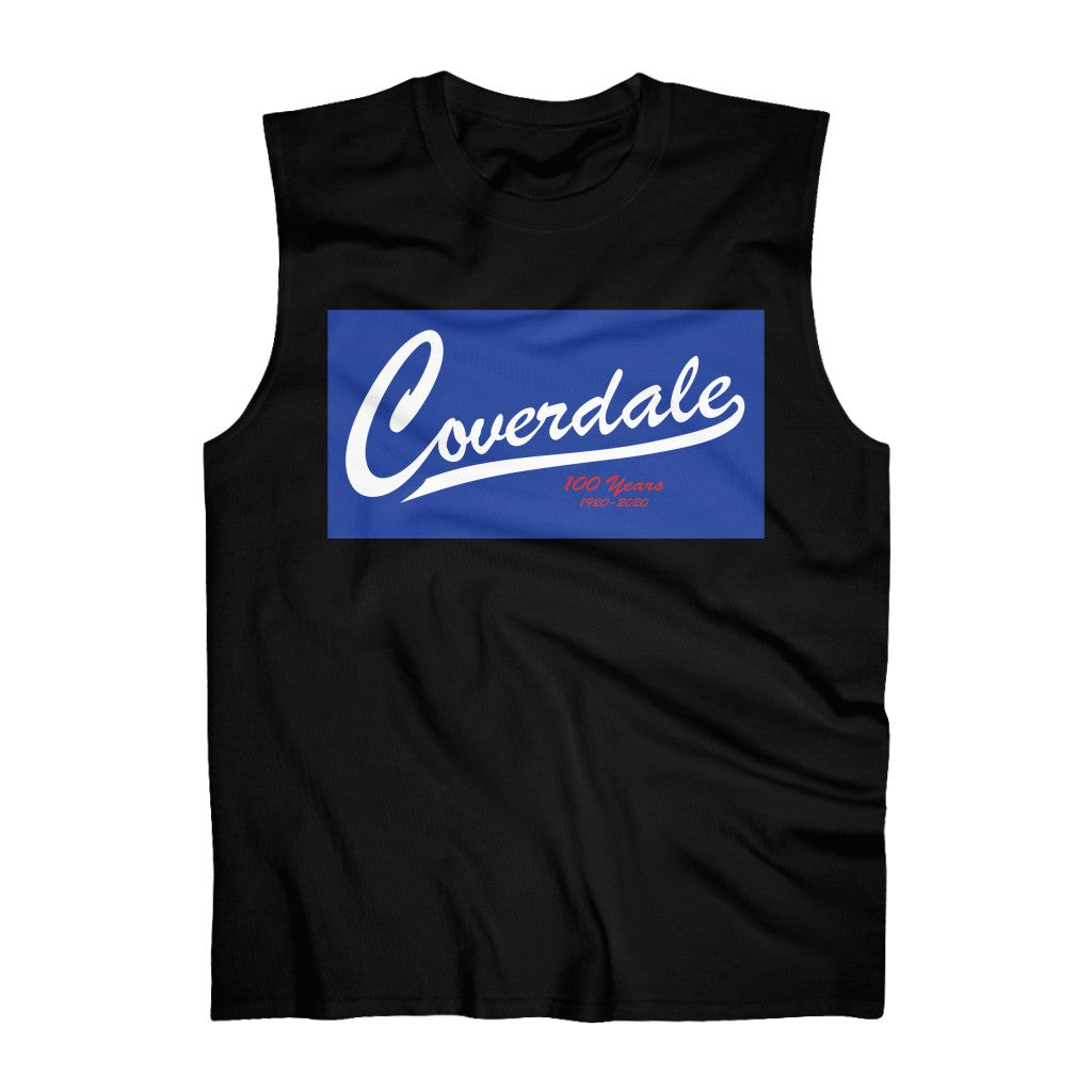Coverdale Blue Logo Ultra Cotton Sleeveless Tank