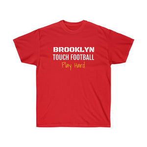 Play Hard Brooklyn Football Ultra Cotton Tee