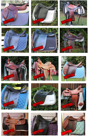 Sold Saddles at Summerside Tack