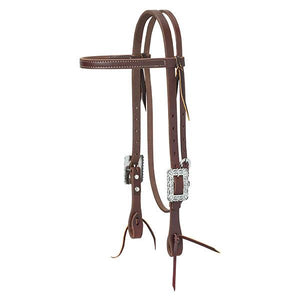 Weaver Working Tack Southwest Scalloped Headstall