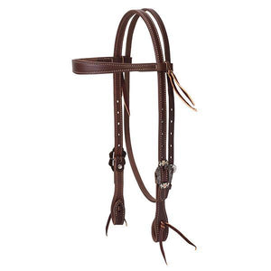 Weaver Working Tack Floral Headstall