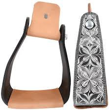 Cashel Engraved Slanted Stirrups