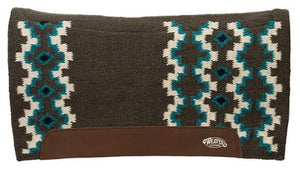 Weaver Flex Contour Wool Blend Felt Saddle Pads