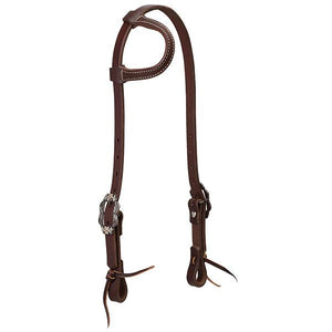 Weaver Working Tack Floral Designer Hardware One Ear Headstall