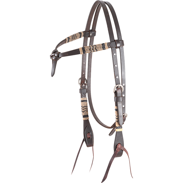 Martin Saddlery Rawhide Accent Headstall
