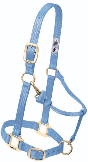 Weaver Adjustable Slate Blue Halter