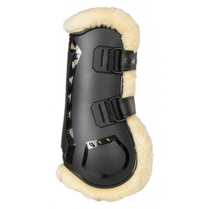 Back on Track AirFlow Tendon Boots with Fur