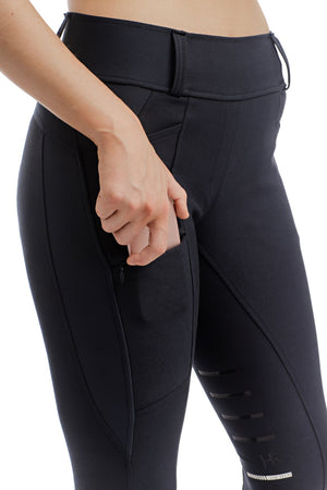 Horseware Hybrid Navy Pull-Up Breeches