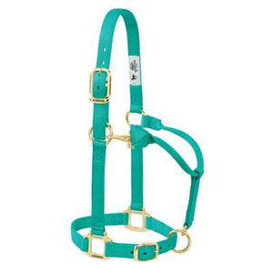Weaver Adjustable  Emerald Green Halter