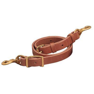 Weaver Deluxe Leather Tie Down Strap