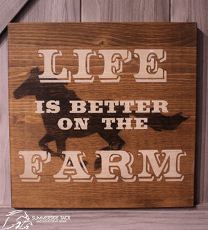 Equine Sign and Design Better on the Farm
