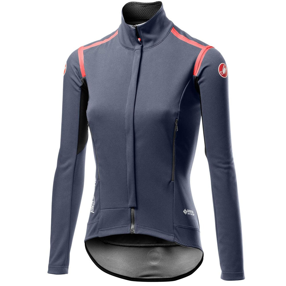 Castelli Perfetto Ros W Long Sleeve - Dark Steel Blue | VeloVixen