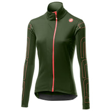 Load image into Gallery viewer, Castelli Transition W Jacket - Military Green | VeloVixen