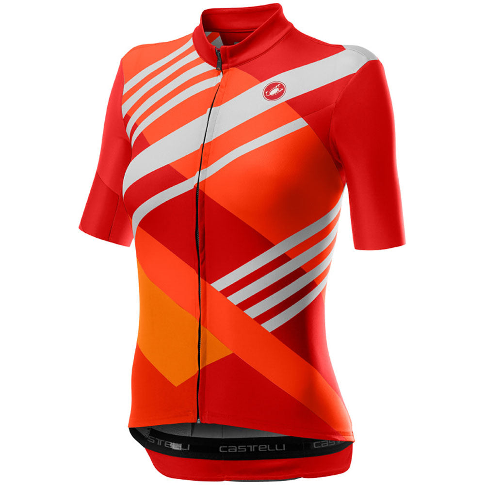 Castelli Talento Jersey - Multicolor Orange