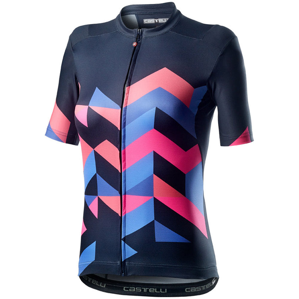 Castelli Unlimited Jersey - Dark Steel Blue