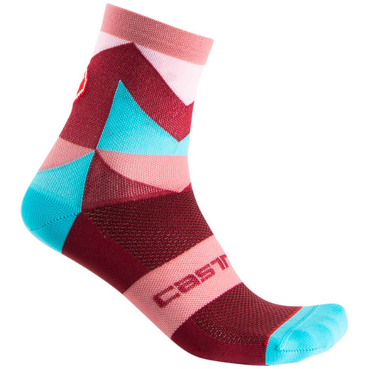 Castelli Unlimited Sock - Sangria