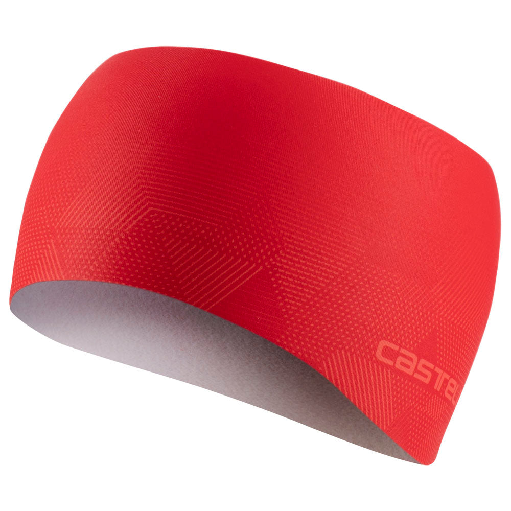 Castelli Pro Thermal Headband - Red
