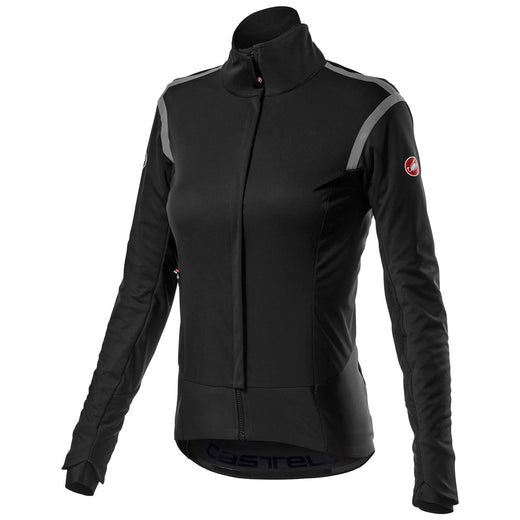 Castelli Alpha Ros 2 W Light Jacket - Light Black | VeloVixen