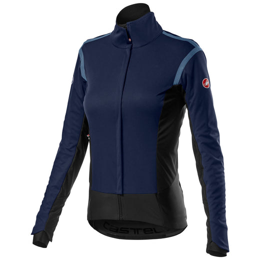 Castelli Alpha Ros 2 W Light Jacket - Savile Blue | VeloVixen