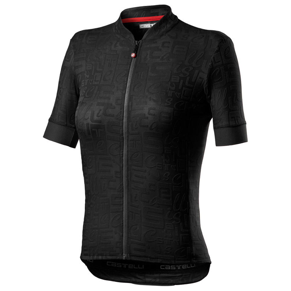 With the design woven into the fabric, Castelli have neither compromised on style nor technical specifications with their Promessa Jaquard Jersey. The fabric, with its 2-way lateral stretch that allows the jersey to move with you, is extra-wicking to keep you cool and dry on sweaty rides.