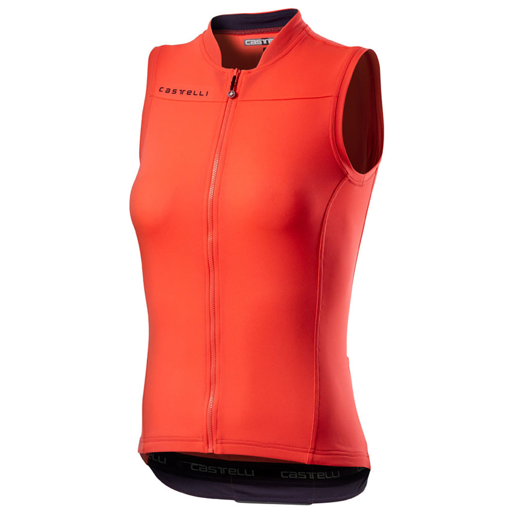 The Castelli Anima 3 Sleeveless Jersey: all the performance of the Anima 3 Jersey without the sleeves, making it perfect for hotter rides (or catching a tan!).