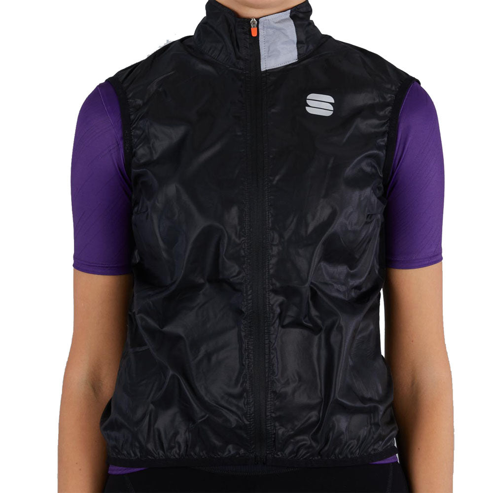 Sportful Hot Pack Easylight Women's Vest - Black | VeloVixen