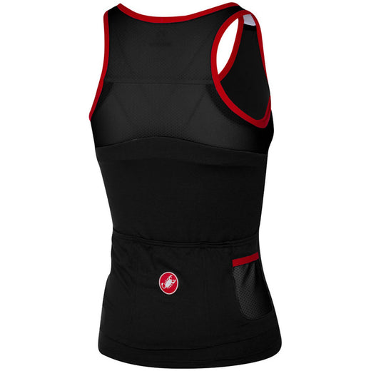 Castelli Solare Top - Black/Red