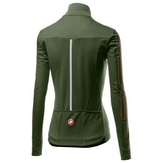Castelli Transition W Jacket - Military Green